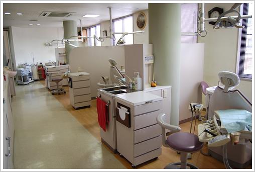 半個室の診療台